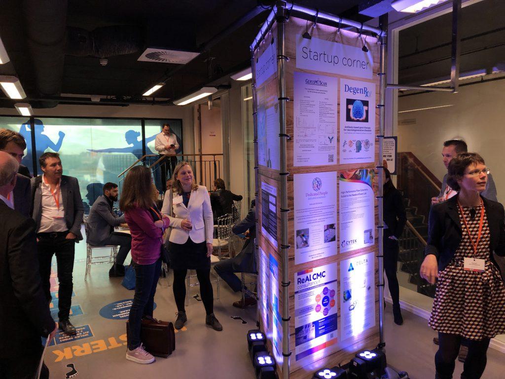 poster presentation GlycoMScan startup corner Dutch Life Science conference